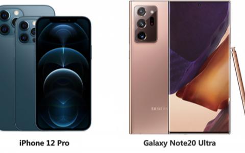 三星Galaxy Note20系列的屏幕轻松完胜iPhone12系列