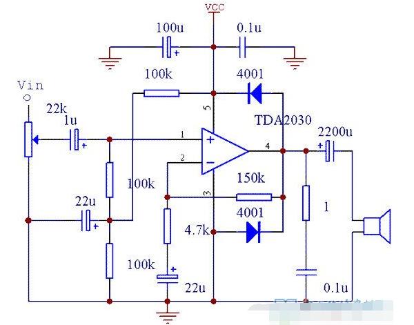 TDA2030电源的两种接法