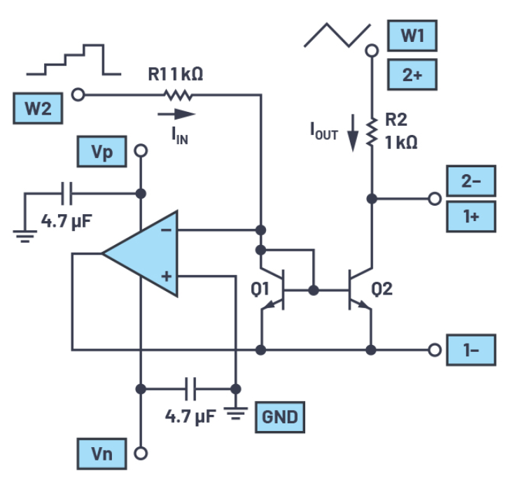 双极性结型晶体管(BJT)电流源或电流镜研究
