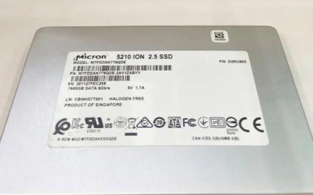 美光 5210QLC SSD獲技術創新獎!