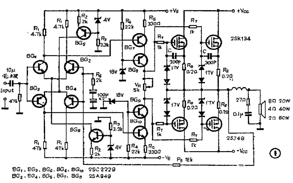如何制作一个20W的立体声纯甲类功率放大器