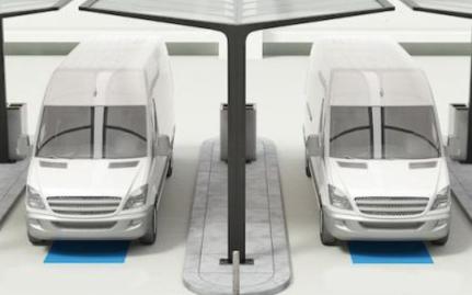 由于自動駕駛和充電技術的進步,電動送貨車正持續發...