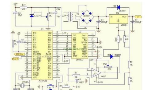 五款直流稳压电源电路图的资料和原理图说明