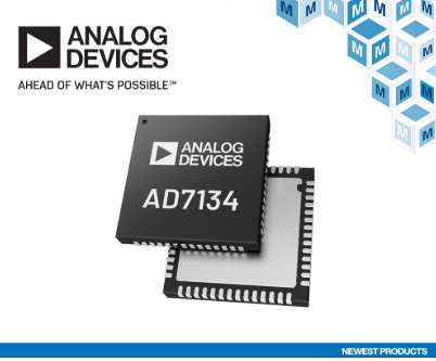 Analog Devices AD7134精密无...