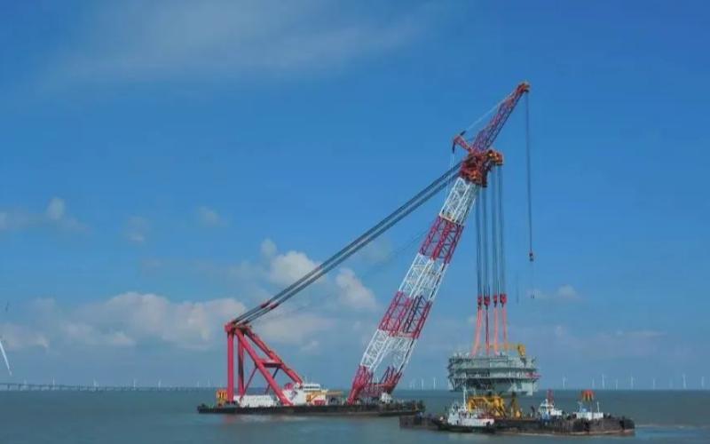 嵊泗海上风电项目进入并网倒计时
