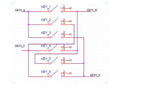 基于GPIO的按键板实现方案