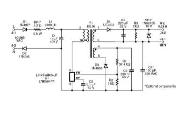 2W充电器:替代非稳压线性电源的解决方案分享