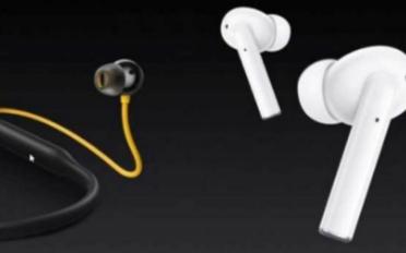 中国制造商Realme展示了其新的TWS耳机
