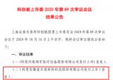 安徽壹石通材料科技股份有限公司科创板IPO成功过会