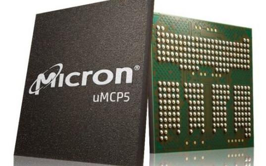 全球首創!美光LPDDR5內存+UFS閃存二合一封裝產品uMCP5量產