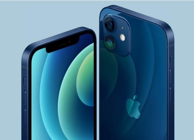 iPhone 12蓝色真机配色疑似翻车