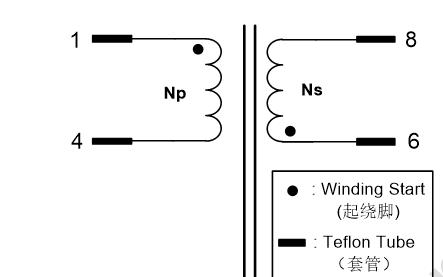 EE13变压器的数据手册免费下载