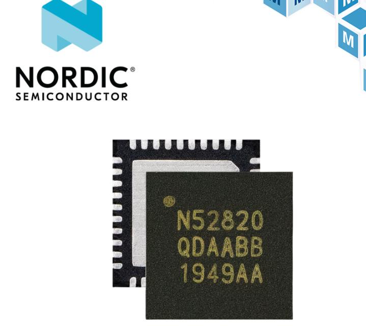 贸泽开售结合蓝牙5.2与USB2.0的 Nordic Semiconductor nRF52820多协议SoC