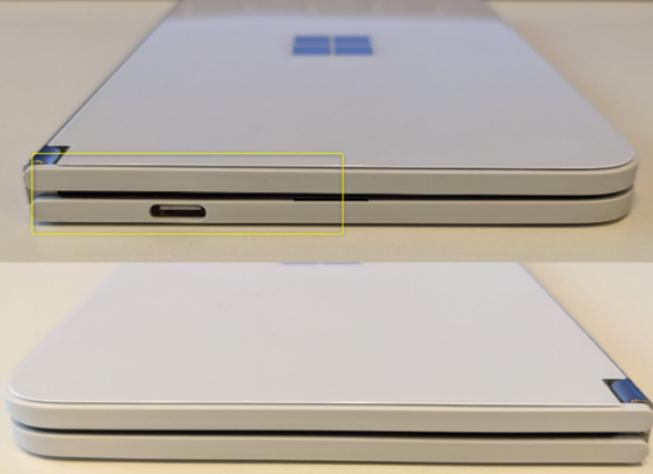 网友爆微软Surface Duo折叠屏手机充电十次后,电池发生膨胀