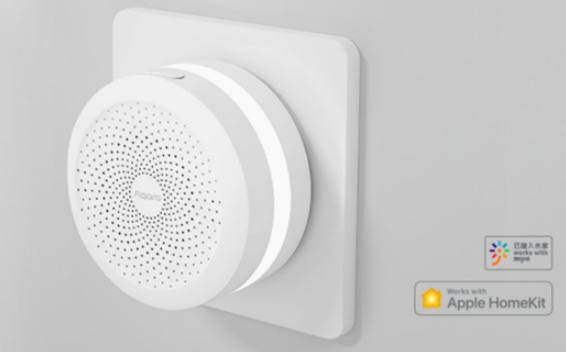 绿米联创发布Aqara网关M1S,已接入苹果及小米双平台语音控制
