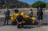 洛杉矶消防部门迎来了一名新成员 - 机器人消防员Thermite RS3