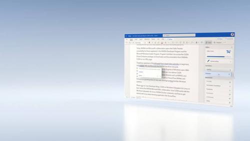Microsoft Azure機器學習為Word編輯器提供語法建議