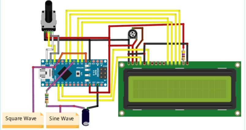 如何使用Arduino開發板制作函數生成器(波形發生器)