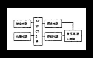 基于AT89C52单片机和ISD4002芯片实现报警系统的设计