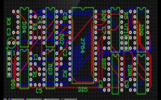 低频功率放大器的PCB原理图免费下载
