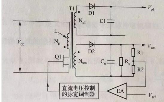 反激变压器其实是电感