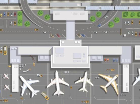 如何利用实施物联网计划以监控现场位置保障智能机场的安全?