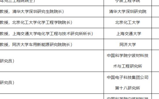 2020年先进能源材料与器件国际大会部分报告嘉宾名单以及会议议题