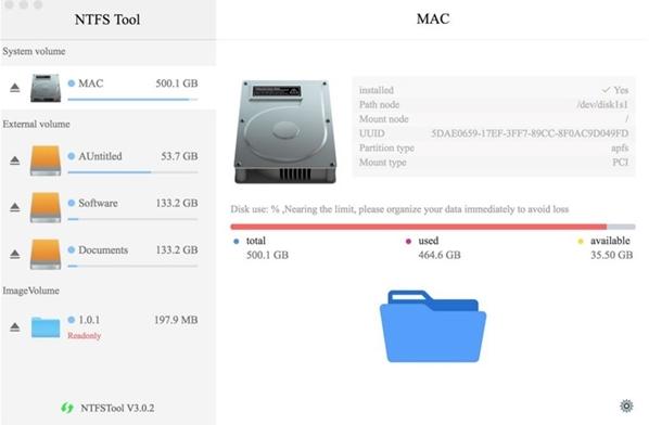 苹果电脑兼容U盘和移动硬盘的方法