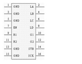 音樂頻譜LED顯示屏驅動控制程序案例解析