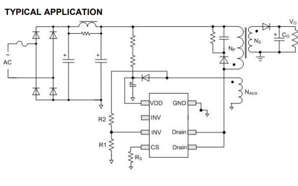 ICW2540开关电源控制器集成电路的数据手册免费下载