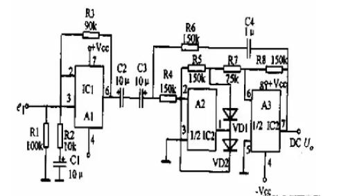 基于OP放大器的高精度AC-DC转换电路