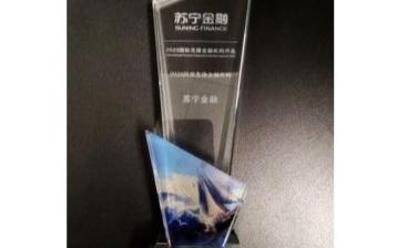 苏宁金融获得了2020国际先锋金融机构的两项大奖