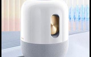 华为发布了一款名为Sound的智能扬声器华为So...