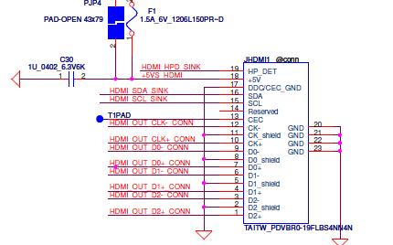 DELL P03T笔记本的电路原理图合集