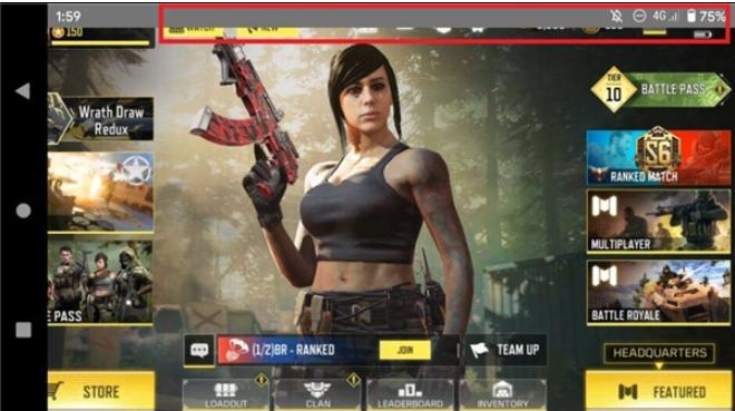 爆Android 11出现BUG:部分游戏横屏时无法全屏显示