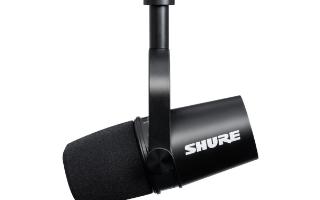Shure全新推出首款混合式XLR/USB話筒——MV7主播話筒