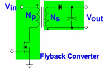 开关电源的隔离式拓扑结构与非隔离式拓扑结构的基础详细说明