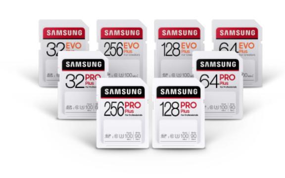 三星推出了两款新的SD卡,可为4K视频提供更快的速度