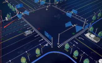 可视化大屏结合智能AI,将赋予城市人脑思维