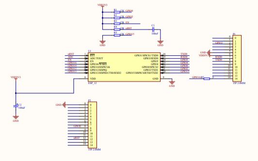 机智云转接板的电路原理图免费下载