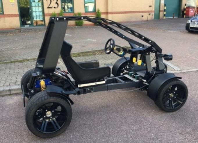 欧洲首款3D打印汽车登场,采用电动四轮,世俗可达70Km