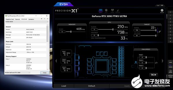 500W EVGA RTX 3090解锁限制:电源别低于850W
