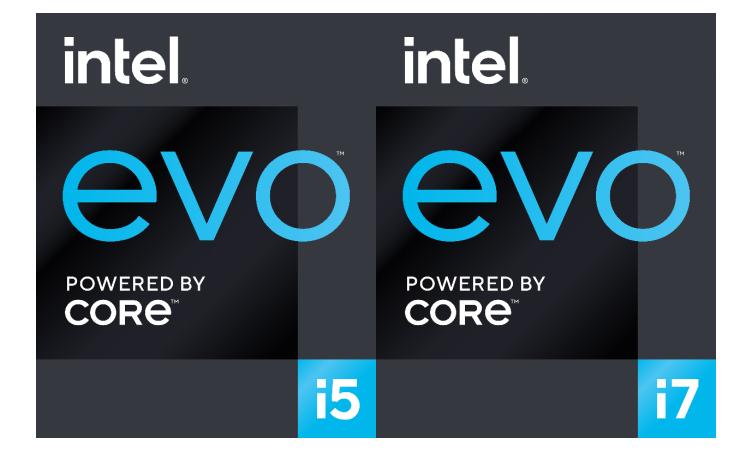 基于英特尔Evo平台的时尚轻薄笔记本电脑的特性