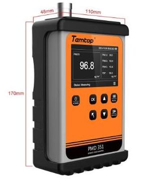 手持式气溶胶监测仪PMD 351的功能特点和应用场景