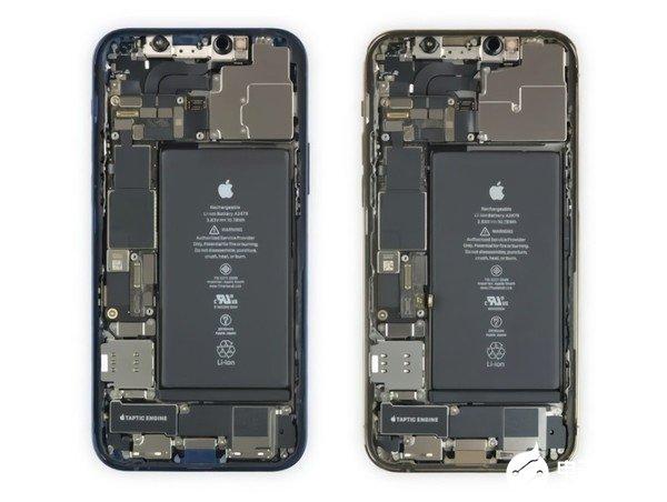 iFixit拆解iPhone 12/Pro:组件...