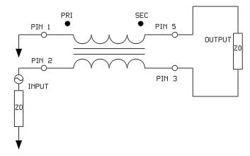 ETC1-1-13系列传输线变压器的数据手册免费下载