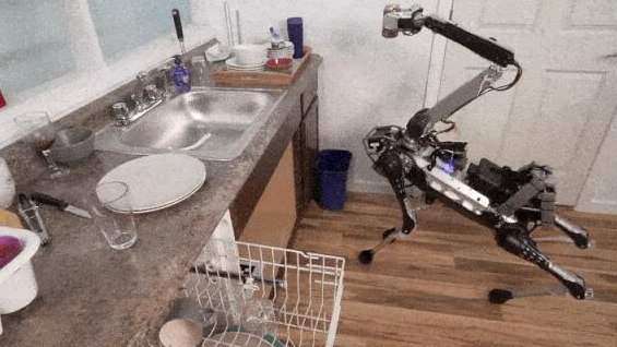波士顿动力机器狗Spot将可供家庭使用,自配充电...