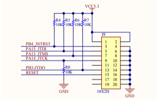 STM32103ZET6工控版的电路原理图免费下载