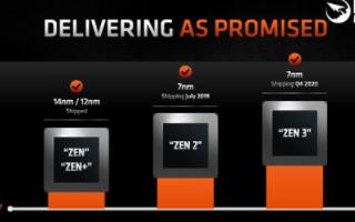 AMD锐龙5000系列处理器即将上市,使用EUV...