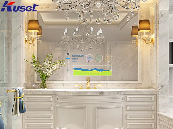 智能魔镜显示屏的应用将家居设备进行一键控制